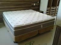 Lava seco colchão cama box
