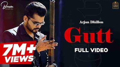 GUTT  Song Lyrics - Arjan Dhillon