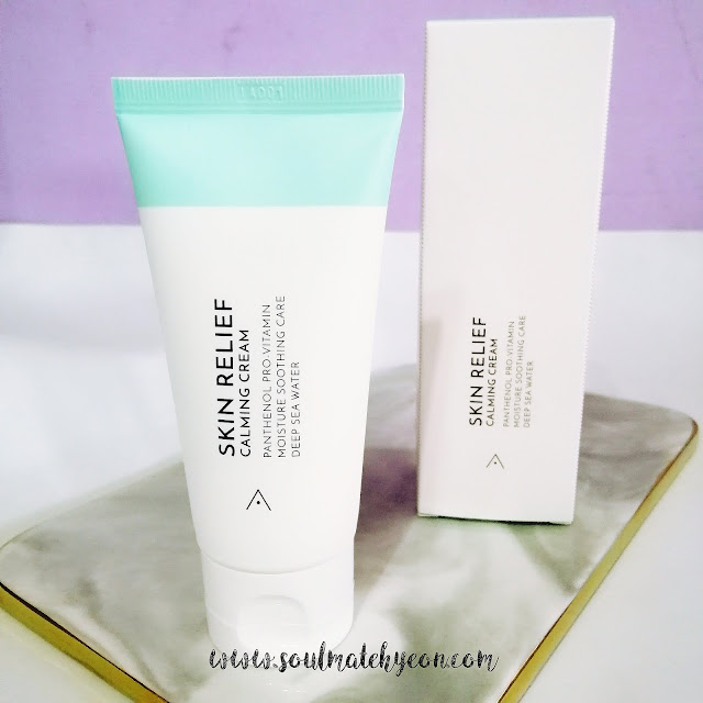 Review; Althea Korea's Skin Relief Calming Cream