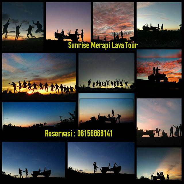 Sunset di Lost World Castel Merapi