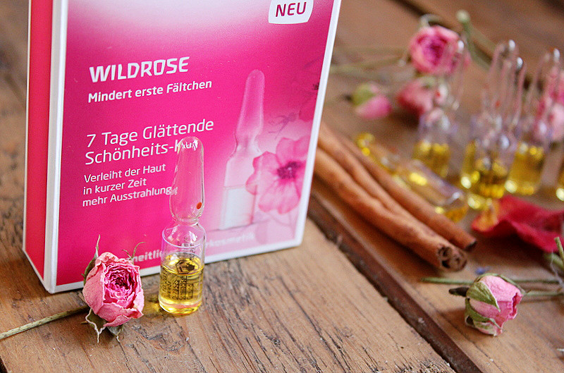 Отзыв: «Ампулы красоты»: WELEDA Wildrose Разглаживающий концентрат с маслом розы москета.