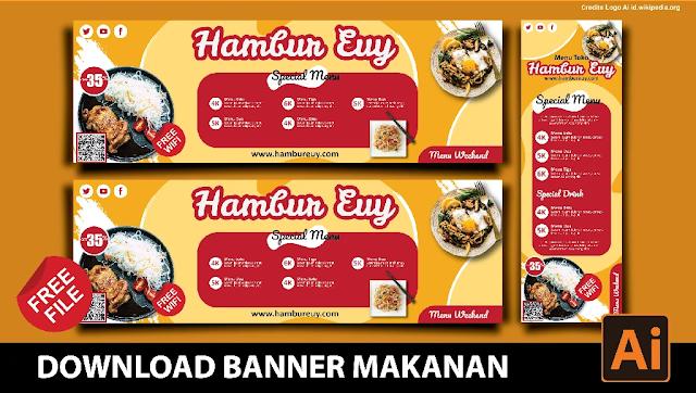 Download Spanduk Makanan Coreldraw Dan Photoshop