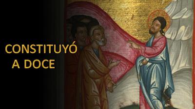 Evangelio según san Marcos (3, 13-19): Constituyó a doce para que se quedaran con él