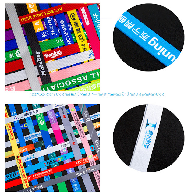lanyard printing displaying