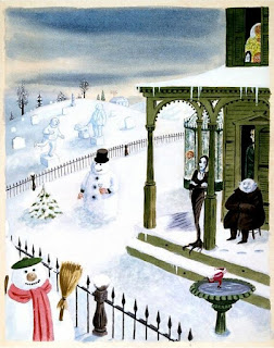 Charles Addams cartoon