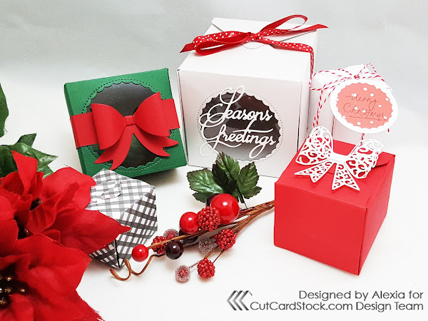 Gift Presentation with Die-Cuts