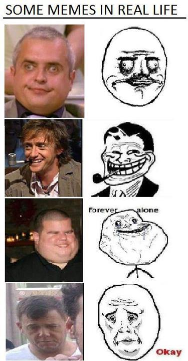 memes faces in real life - photo #2