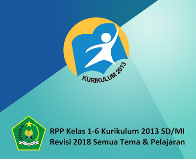 RPP Kelas 1-6 Kurikulum 2013 SD/MI Revisi 2018: Semua Tema & Pelajaran