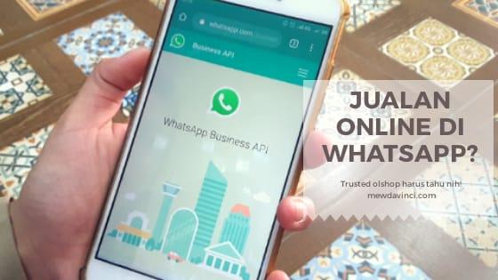 Jualan online pakai WhatsApp Business