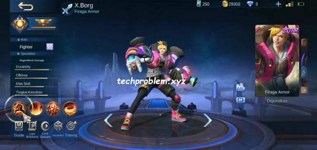 Cara Mendapatkan Skin Starlight Xborg Gratis Mobile Legends