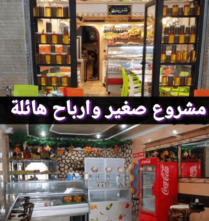 انشاء مشروع محلبة في المغرب
