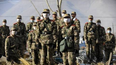 Viral Video Seragam Tentara China di Laundry Kelapa Gading, Ini Kata Polisi
