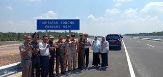 Tol Trans Sumatera Potensial Tambah Pendapatan Daerah
