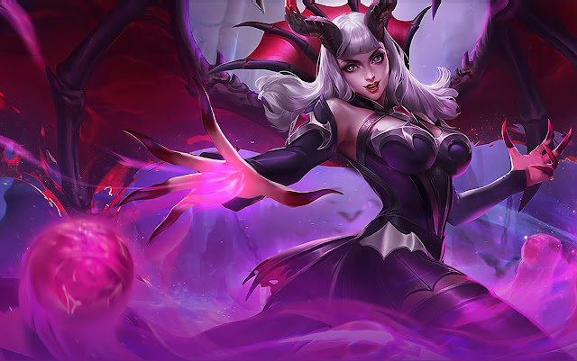 Alice Queen Of The Apocalypse Heroes Mage of Skins Rework Mobile Legends Wallpaper HD for PC