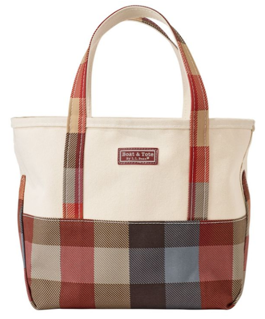 fall l.l.bean boat and tote
