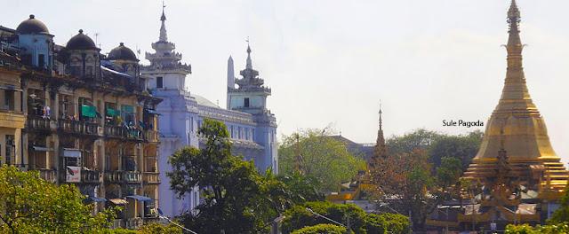 Yangon Walking Tour