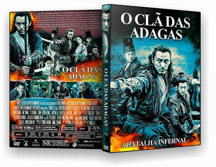 DVD O Clã das Adagas 2019 - ISO