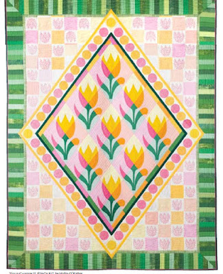 Quilt Inspiration Free Pattern Day Easter And Spring Quilts
