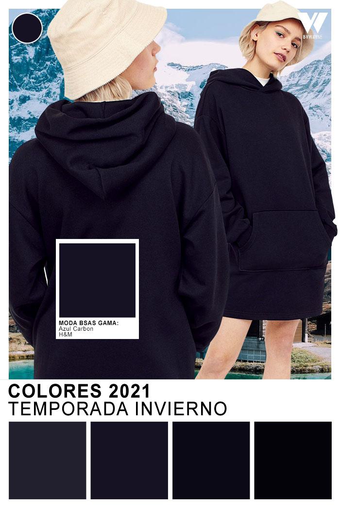 Tonos tendencia de moda otoño invierno 2021 - Negro un clasico de moda