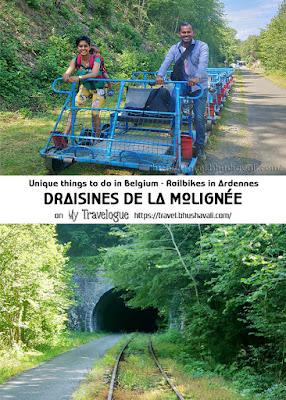 Railbikes in Belgian Ardennes Pinterest