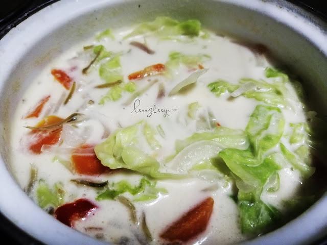 Resepi Sayur Kubis Masak Lemak Paling Simple Tetapi Sedap!