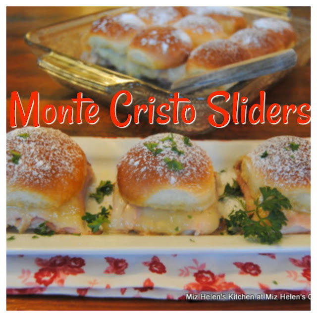 dinner Monte Cristo Sliders at Miz Helen's Country Cottage