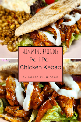 Peri Peri Chicken Kebab | Fakeaway Recipe