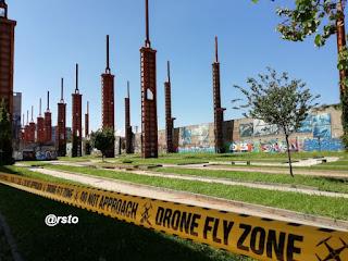 Parco Dora droni
