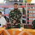 Dengan Tegas Dandim Karanganyar Paparkan Kegiatan ke Wasev Itdam IV/Diponegoro