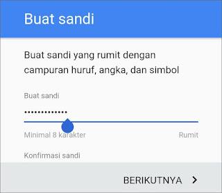Cara Membuat Email Gmail di Android 10