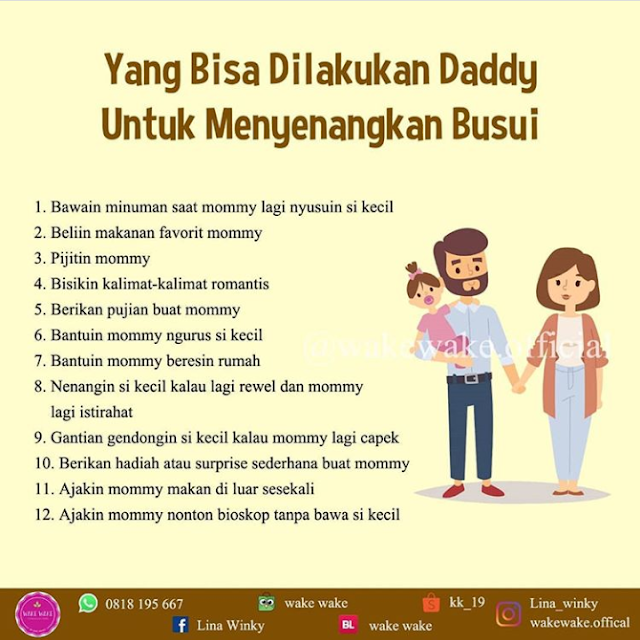 20 Ide Buat Daddy Untuk Support Mommy Sukses Menyusui Si Kecil