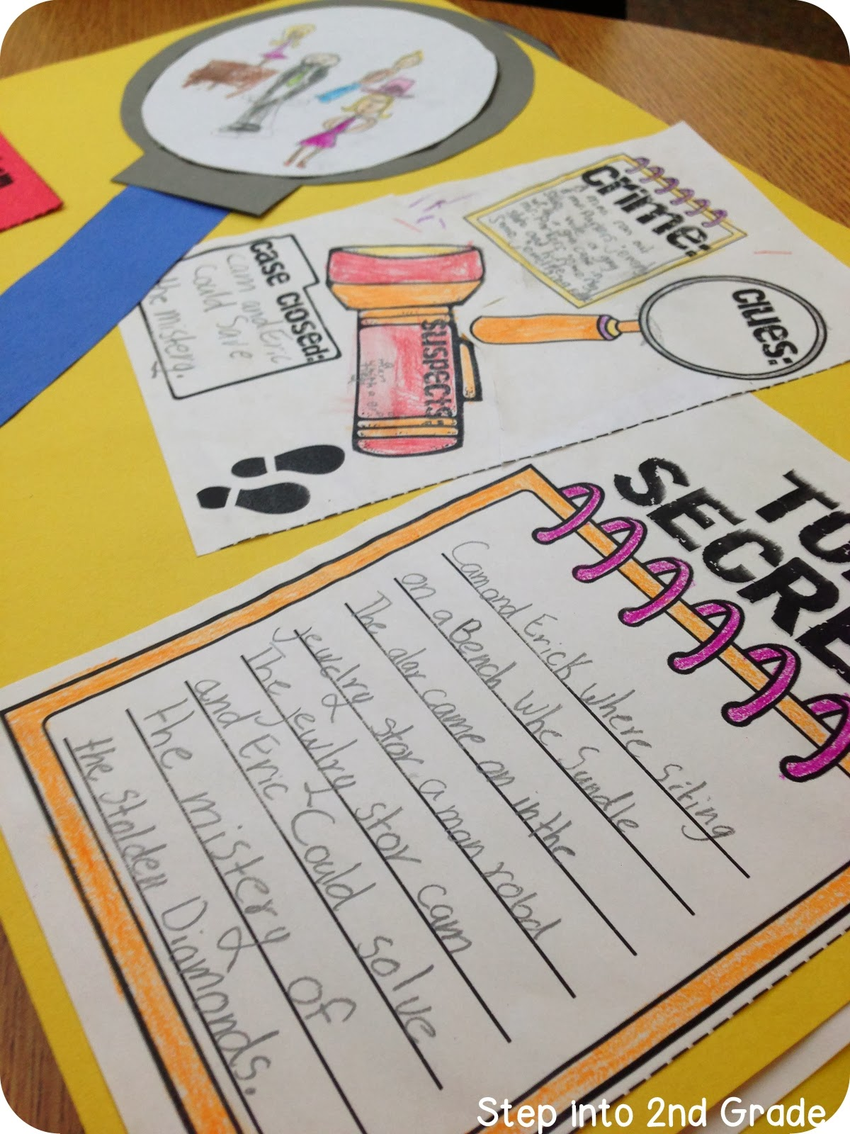 Step Into 2nd Grade With Mrs Lemons Detective Clubs