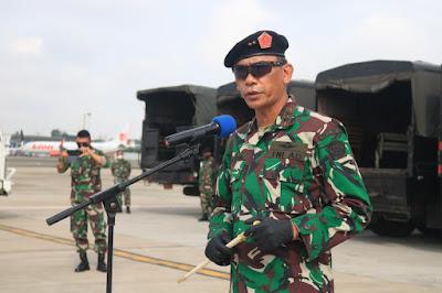 Komandan PMPP TNI Sambut Prajurit Satgas Kontingen Garuda UNIFIL Usai Laksanakan Misi