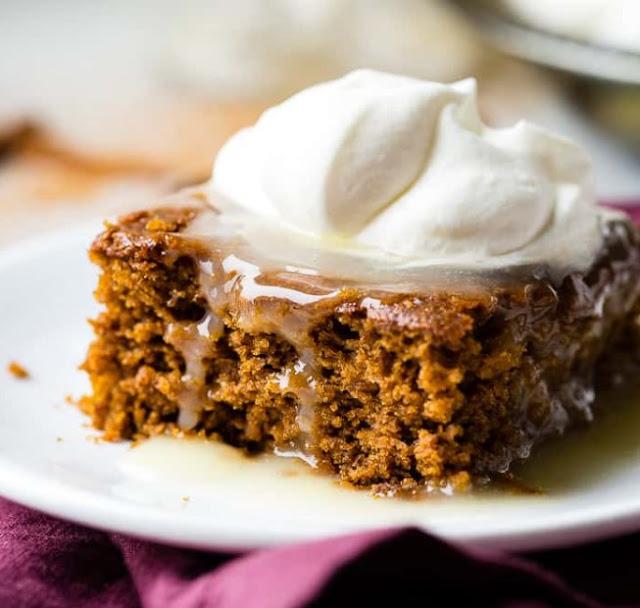 Gingerbread Cake #cakerecipe #desserts