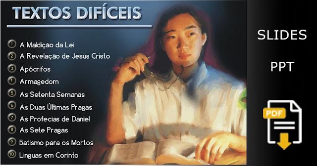47 Temas Difíceis da Bíblia