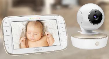 Motorola video baby monitor MBP50-G