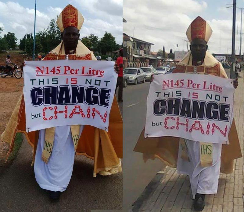 Osun bishop who embarked on one-man protest against Buhari cries out over threat to his life