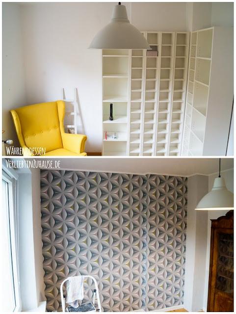 Vorher-Nachher: Dieses Zimmer durfte ich neu gestalten, also hieß es einmal renovieren und einrichten, bitte.