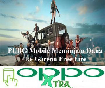 PUBG Mobile Meminjam Dana ke Garena Free Fire