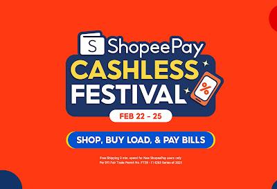 Enjoy Free Shipping, Cashback, and More at the 3.3 ShopeePay Cashless Festival