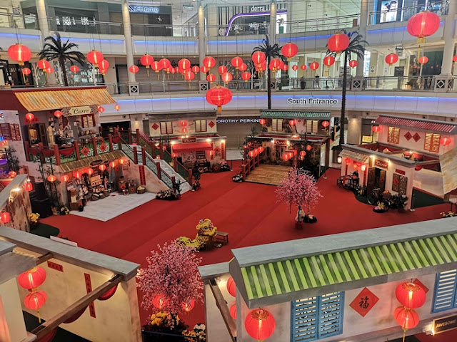 Ring in the Year of the Ox with 1960s Vibes at the Curve, The curve CNY decor, Malaysia Shopping Mall, CNY Decor, Lifestyle