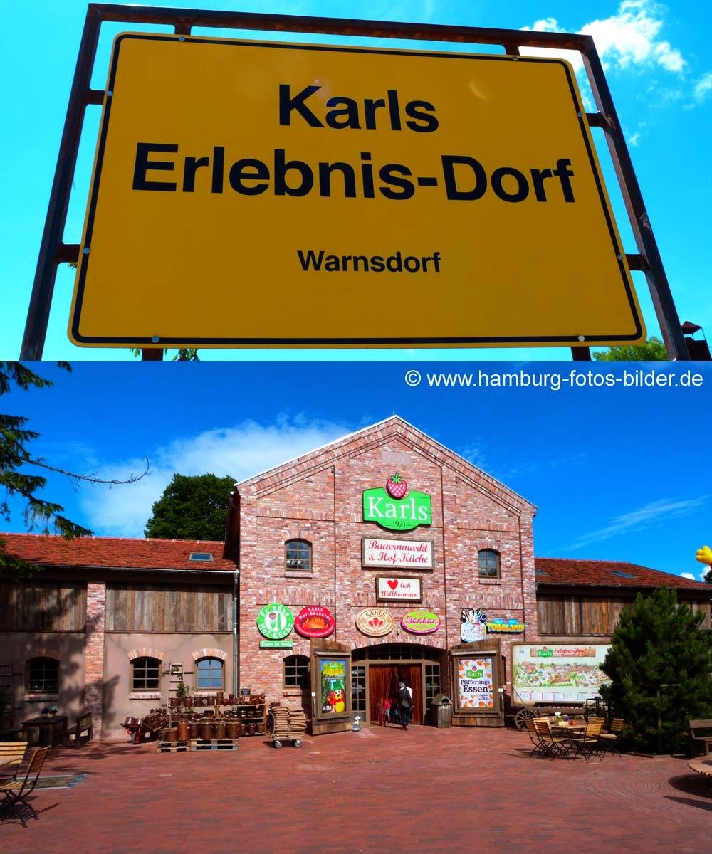 Karls erlebnis Dorf Warnsdorf, Ausflugsziel in der Umgebung von Hamburg