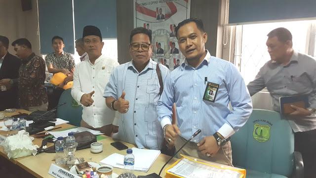 DPRD Muba Gelar Rapat Dengan PT GPI Terkait Sengketa Lahan