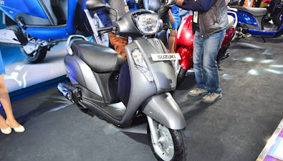 Suzuki Access 125 view HD Wallpaper