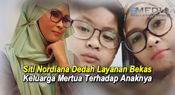 Siti Nordiana Dedah Layanan Bekas Keluarga Mertua Terhadap Anaknya
