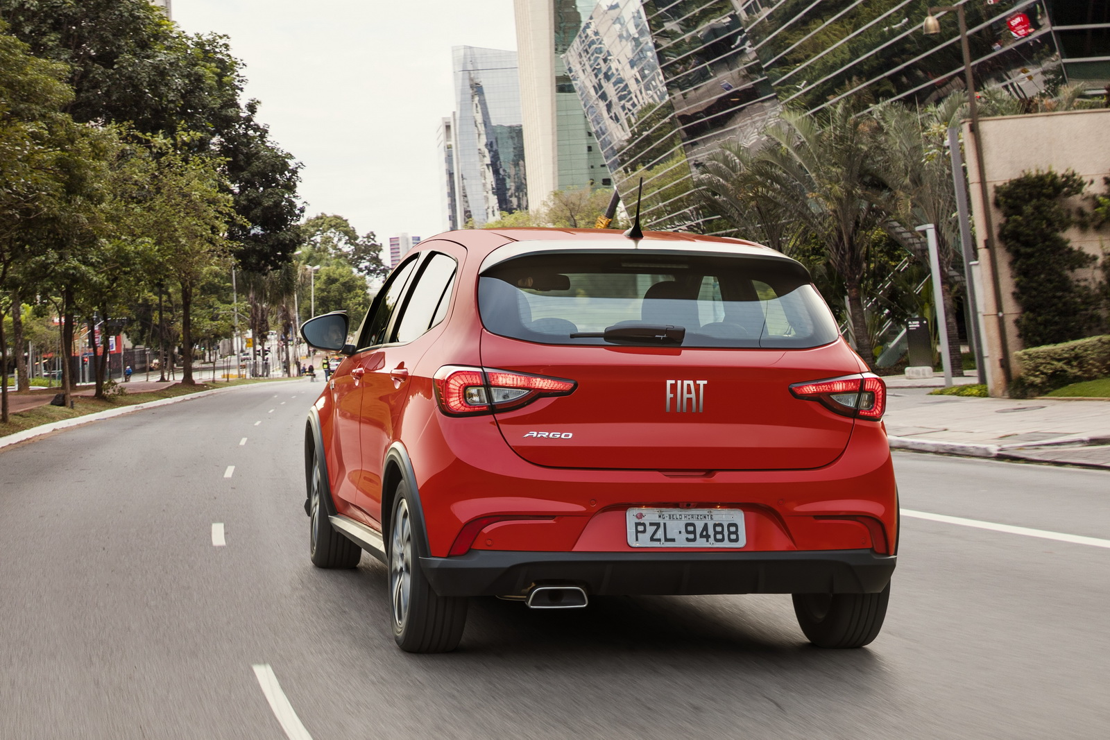 New Fiat Argo Officially Launched In Brazil [35 Pics