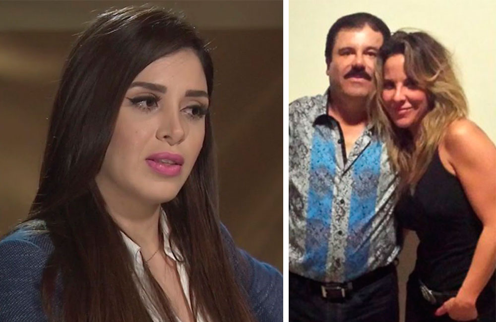 """Kate del Castillo amenaza a políticos y revela su verdad sobre su relación con Emma Coronel y """"El Chapo"""" Guzmán"""