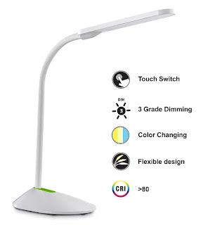 Wipro Garnet Study Table Lamp