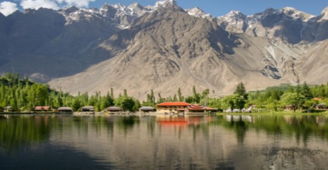 What is the other name of Shangrila lake near Kachura Village?