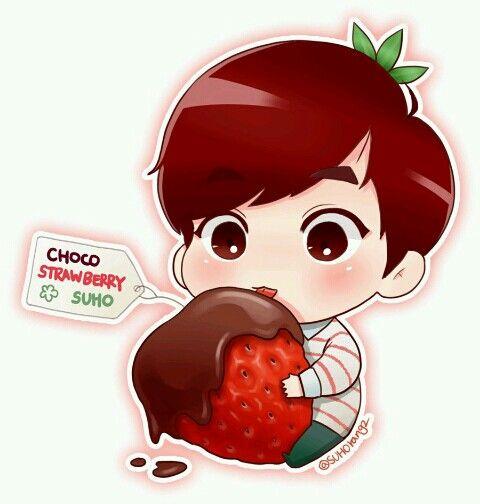 Hình ảnh Chibi Exo dễ thương Kute khuấy đảo facebook